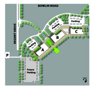 Maricopa campus aerial map