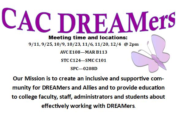 Fal 2017-DREAMers Meetings